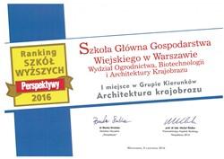 Najlepsza Architektura Krajobrazu w Polsce